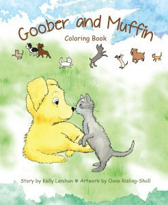 Goober and Muffin Coloring Book